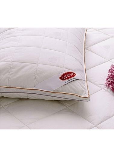 Linens Biyeli Bebek Yün Yastık Beyaz